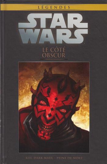 Couverture de l'album Star Wars (Collection Hachette) - 114. Le Côté obscur XIII - Dark Maul - Peine de mort