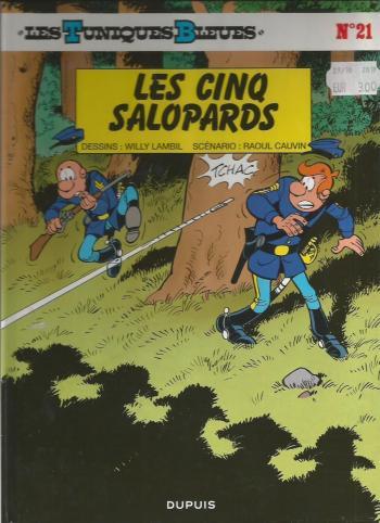 Couverture de l'album Les Tuniques bleues - 21. Les cinq salopards