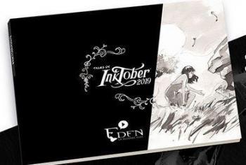 Couverture de l'album Eden - La Seconde Aube - HS. Inktober 2019