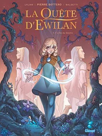 Couverture de l'album La Quête d'Ewilan - 7. L'île du destin