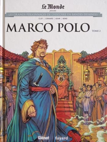 Couverture de l'album Les Grands Personnages de l'Histoire en BD - 22. Marco Polo - Tome 2