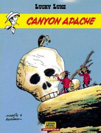 Couverture de l'album Lucky Luke - 37. Canyon Apache