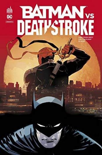 Couverture de l'album Batman vs Deathstroke (One-shot)
