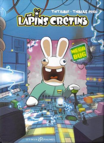 Couverture de l'album The lapins crétins - 12. Méga bug