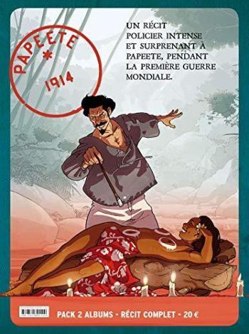 Couverture de l'album Papeete 1914 - COF. Papeete 1914