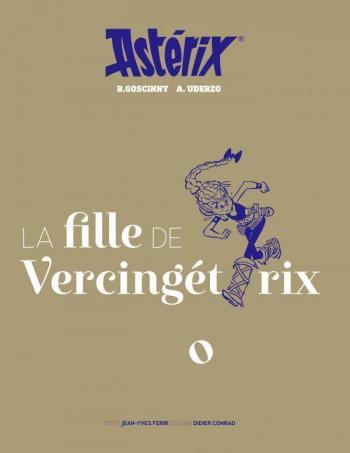 Couverture de l'album Astérix - 38. La Fille de Vercingétorix - Artbook