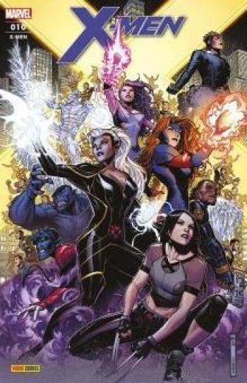 Couverture de l'album X-Men (V6) - 10. La séparation (II)