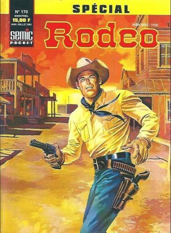 Couverture de l'album Rodéo (Spécial) - 170. Le solitaire du West (II)