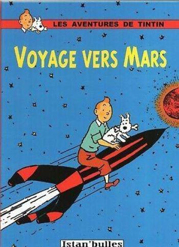 Couverture de l'album Tintin (Pastiches, parodies et pirates) - HS. Voyage vers Mars