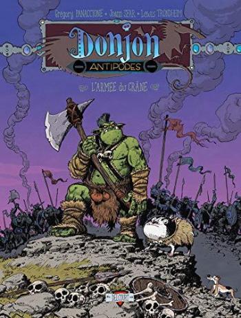Couverture de l'album Donjon Antipodes - -10000. L'Armée du crâne