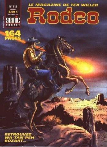Couverture de l'album Rodéo - 613. La menace dans le désert