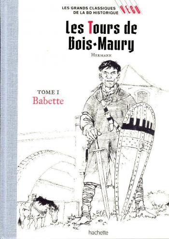 Couverture de l'album Les Grands classiques de la BD historique Vécu - 4. Les Tours de Bois-Maury - Babette