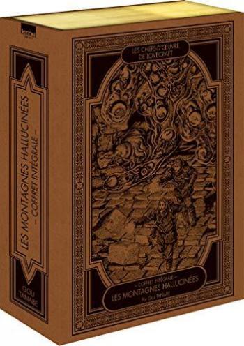 Couverture de l'album Les Chefs-d'oeuvre de Lovecraft - COF. Les montagnes hallucinées