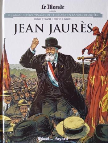 Couverture de l'album Les Grands Personnages de l'Histoire en BD - 23. Jean Jaurès