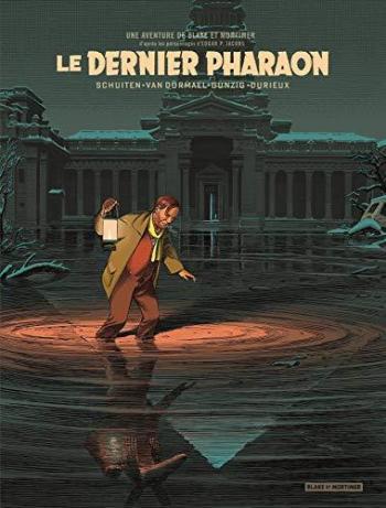 Couverture de l'album Blake et Mortimer (Blake et Mortimer) - HS. Le Dernier Pharaon - version bibliophile