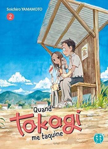 Couverture de l'album Quand Takagi me taquine - 2. Tome 2