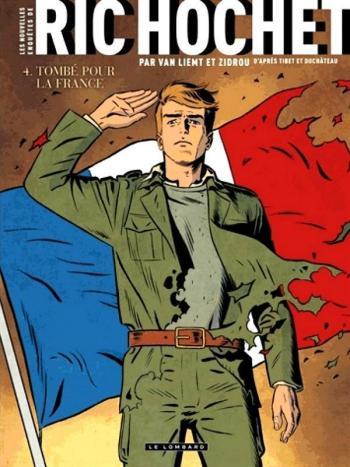 Couverture de l'album Les Nouvelles Enquêtes de Ric Hochet - 4. Tombé pour la France