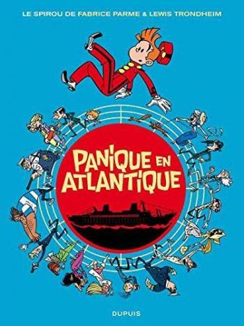 Couverture de l'album Une aventure de Spirou et Fantasio par... (Le Spirou de…) - 6. Panique en Atlantique
