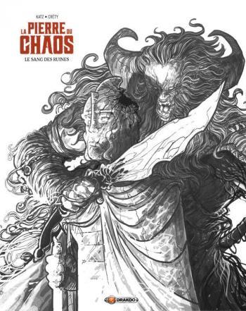 Couverture de l'album La Pierre du chaos - 1. Le Sang des ruines