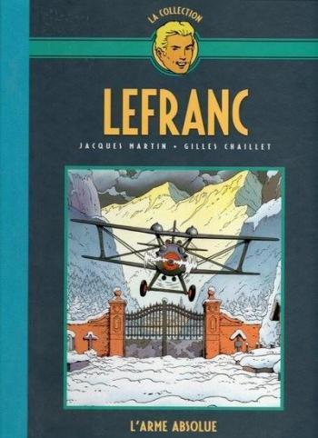 Couverture de l'album Lefranc - La Collection (Hachette) - 8. L'arme absolue