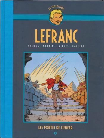 Couverture de l'album Lefranc - La Collection (Hachette) - 5. Les portes de l'enfer