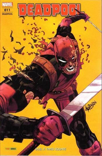 Couverture de l'album Deadpool (V6) - 11. Duel à Times square