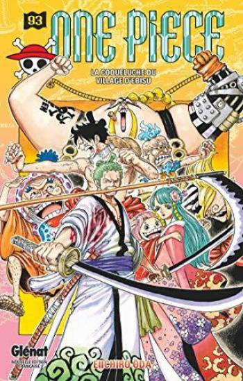 Couverture de l'album One Piece - 93. La coqueluche du village d'Ebisu