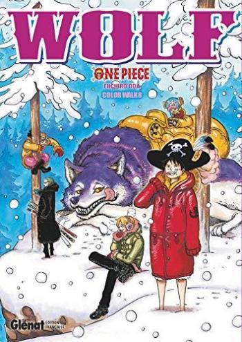 Couverture de l'album One Piece - Color Walk - 8. Wolf