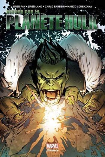 Couverture de l'album Hulk - Retour sur la planète Hulk (One-shot)