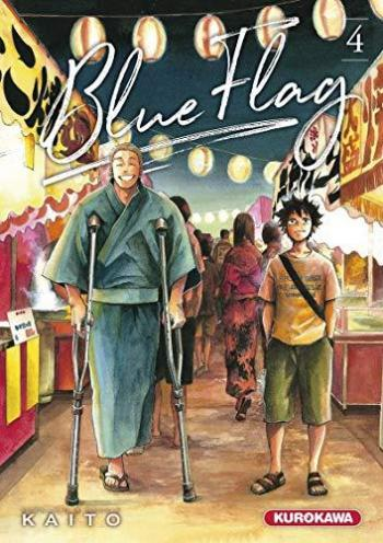 Couverture de l'album Blue Flag - 4. tome 4