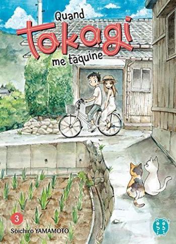 Couverture de l'album Quand Takagi me taquine - 3. Tome 3