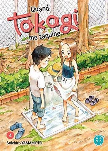 Couverture de l'album Quand Takagi me taquine - 4. Tome 4