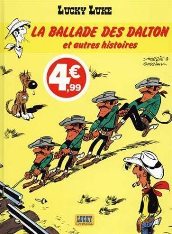 Couverture de l'album Lucky Luke - 55. La Ballade des Dalton et autres histoires