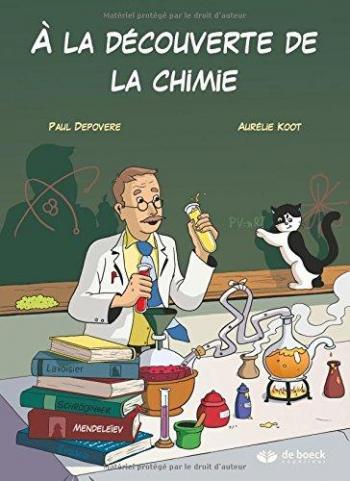 Couverture de l'album A la découverte de la chimie (One-shot)