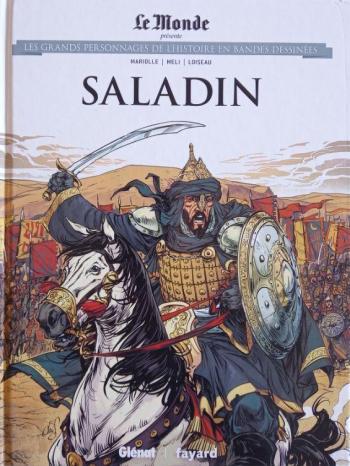 Couverture de l'album Les Grands Personnages de l'Histoire en BD - 24. Saladin