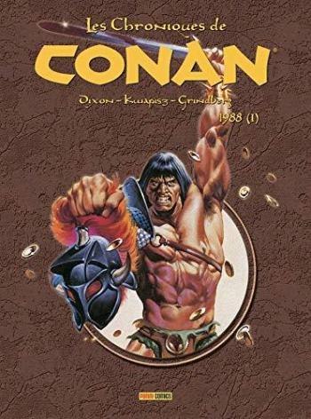 Couverture de l'album Les Chroniques de Conan - 25. 1988 (I)