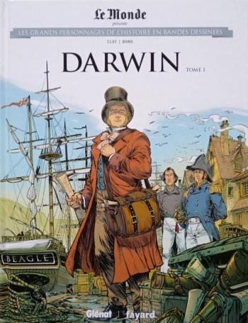 Couverture de l'album Les Grands Personnages de l'Histoire en BD - 27. Darwin - Tome 1