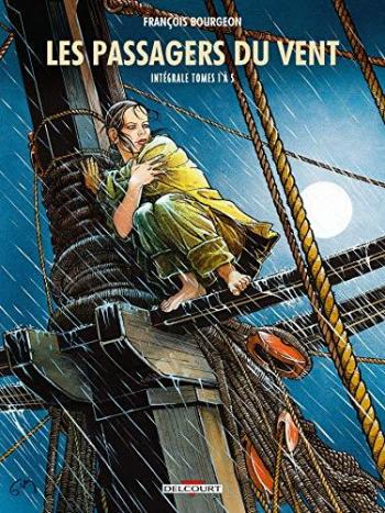 Couverture de l'album Les Passagers du vent - INT. Intégrale tomes 1 à 5