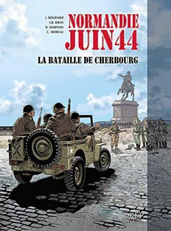 Couverture de l'album Normandie juin 44 - 7. la Bataille de Cherbourg