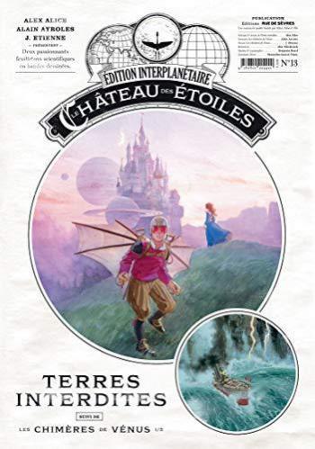 Couverture de l'album Le Château des étoiles (Gazette) - 13. Terres Interdites