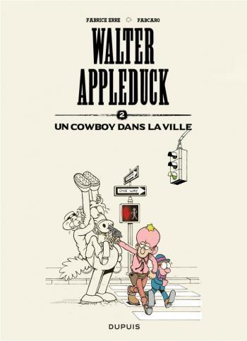 Couverture de l'album Walter Appleduck - 2. Un cow-boy dans la ville