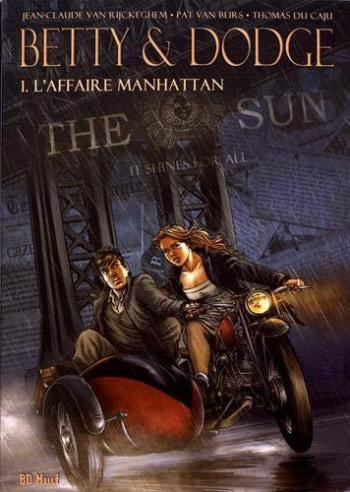 Couverture de l'album Betty & Dodge - COF. L'affaire Manhattan