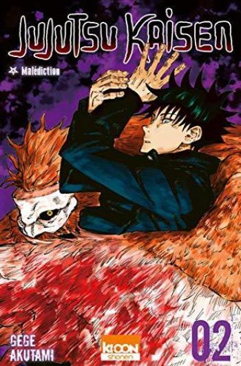 Couverture de l'album Jujutsu Kaisen - 2. Malédiction