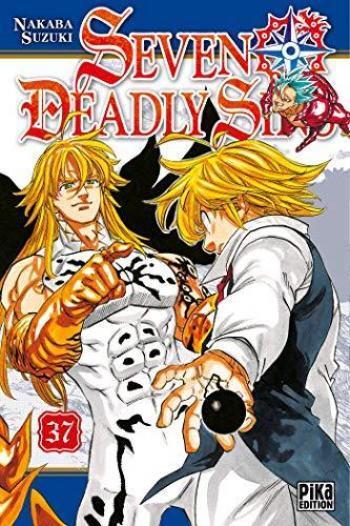 Couverture de l'album Seven Deadly Sins - 37. tome 37