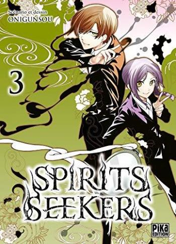 Couverture de l'album Spirits Seekers - 3. tome 3