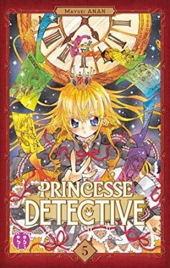Couverture de l'album Princesse Détective - 5. Tome 5