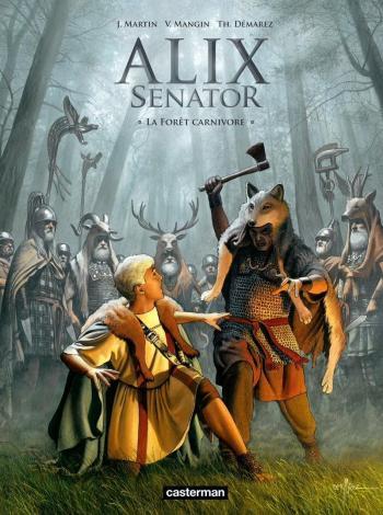 Couverture de l'album Alix Senator - 10. La Forêt carnivore