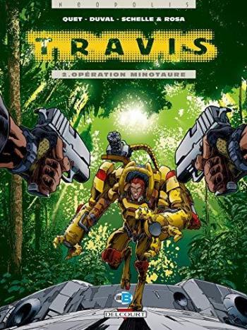 Couverture de l'album Travis - 2. Opération minotaure