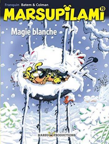 Couverture de l'album Marsupilami - 19. Magie blanche