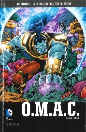 Couverture de l'album DC Comics - Le Meilleur des super-héros - 110. O.M.A.C. - L'Arme Ultime